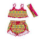 זול אספקה למסיבות-סט של בגדים ללא שרוולים פסים בנות תִינוֹק
