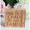 billige Smykkeemballasje og displayer-Fest & Aften Bambus Chip Bryllupsdekorasjoner Familie Alle årstider
