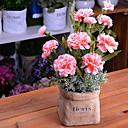tanie Sztuczny kwiat-Sztuczne Kwiaty 1 Gałąź Rustykalny Goździk ogrodowy Bukiety na stół