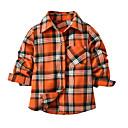 tanie Topy dla chłopców-Dzieci / Brzdąc Dla chłopców Podstawowy Szkoła Wielokolorowa Długi rękaw Bawełna Koszula