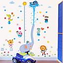 זול מדבקות קיר-מדבקות קיר דקורטיביות - מדבקות קיר מטוס חיות חדר ילדים