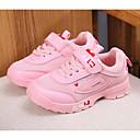 billige Sælges kun i Europa-Pige Sko PU Forår Komfort Sneakers for Hvid / Sort / Lys pink