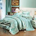 preiswerte Geometrische Duvet Covers-Bettbezug-Sets Geometrisch 100% Baumwolle Jacquard 4 Stück