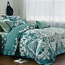 preiswerte Geometrische Duvet Covers-Bettbezug-Sets Geometrisch Polyester Reaktivdruck 4 Stück / 4-teilig (1 Bettbezug, 1 Bettlaken, 2 Kissenbezüge)