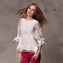 olcso Hastánc ruha-női blúz - egyszínű, kerek nyakú