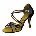 olcso Férfi csizmák-Női Latin cipők / Salsa cipők Csillogó flitter / Bőrutánzat Szandál / Magassarkúk Csat / Csokornyakkendő Személyre szabott sarok Személyre szabható Dance Shoes Forgásc / Piros / Kék / Teljesítmény