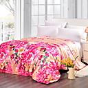 baratos Colchas e Acolchoados-Confortável - 1 Colcha Verão Poliéster Floral