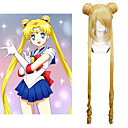 tanie Peruki do cosplay anime-Peruki Cosplay Sailor Moon Sailor Moon Anime Peruki Cosplay 100 CM Włókno termoodporne Damskie