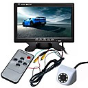 cheap Bluetooth Car Kit/Hands-free-ZIQIAO 7inch TFT-LCD CCD Wired 170 Degree Car Rear View Kit Waterproof / Multi-functional display / LCD Screen for Car