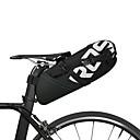 billige Sadeltasker-ROSWHEEL 10 L Sadeltasker Reflekterende, Regn-sikker, Vandtæt Lynlås Cykeltaske polyester Cykeltaske Cykeltaske Cykling Cykel