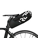 abordables Bolsas para Guardabarros-ROSWHEEL 10 L Bolsa para Guardabarro Reflexivo, Resistente a la lluvia, Cremallera impermeable Bolsa para Bicicleta Poliéster Bolsa para Bicicleta Bolsa de Ciclismo Ciclismo Bicicleta