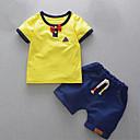 ieftine Pantaloni Băieți-Copil Băieți Peteci Manșon scurt Set Îmbrăcăminte