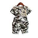 ieftine Seturi Îmbrăcăminte Băieți-Copii Băieți Imprimeu Manșon scurt Set Îmbrăcăminte