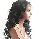 זול פמוטי קיר-שיער בתולי תחרה מלאה פאה שיער ברזיאלי גלי פאה תספורת שכבות 150% עם שיער בייבי / לנשים שחורות שחור בגדי ריקוד נשים קצר / ארוך / חצי אורך פיאות תחרה משיער אנושי