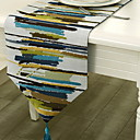 cheap Table Runners-Contemporary Cotton Square Table Runner Geometric Table Decorations 1 pcs