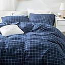 preiswerte Geometrische Duvet Covers-Bettbezug-Sets Geometrisch Polyester / Baumwolle / 100% Baumwolle Reaktivdruck 4 Stück