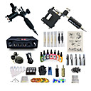 cheap Temporary Tattoos-BaseKey Tattoo Machine Starter Kit - 2 pcs Tattoo Machines with 7 x 15 ml tattoo inks, Professional, Kits Alloy LCD power supply Case Not Included 20 W 2 rotary machine liner & shader