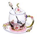 abordables Café y Té-Vasos vidrio Vidrio Termoaislante 1pcs