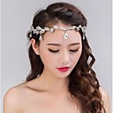 baratos Jóias para o Cabelo-Liga Headbands / Peça para Cabeça com Pedrarias 1pç Casamento / Festa / Noite Capacete