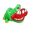 billige Modeure-Crocodile Bite Finger Toy Practical jokes Decompression Toys / Sjov 1pcs Voksen / Teenager Gave