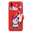 ieftine Cazuri telefon & Protectoare Ecran-Maska Pentru Huawei P20 P10 Model Capac Spate Inorog Moale TPU pentru Huawei P20 lite Huawei P20 P10 Lite P10 Huawei P9