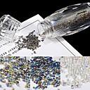 abordables Calcomanías de Uñas-1 pcs Cristal / Elegante Joyería de uñas Nail Art Design / Nail Art Forms