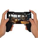 baratos Acessórios de Games para Smartphones-Sem Fio Kits de Acessórios do Controlador de Jogo Para Android / iOS Portátil Kits de Acessórios do Controlador de Jogo ABS 1 pcs unidade