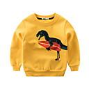 povoljno Džemperi i kardigani za dječake-Djeca Dječaci Aktivan Print Dugih rukava Trenirka s kapuljačom