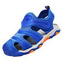 tanie Obuwie chłopięce-Dla chłopców Obuwie Oddychająca Mesh / PU Lato Comfort Sandały Tasiemka na Dark Blue / Granatowy