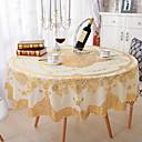 halpa Pöytäliinat-Nykyaikainen PVC Pyöreä Table Cloths Kukka / Geometrinen Pöytäkoristeet 1 pcs