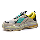 abordables Zapatillas de Mujer-Mujer Zapatos PU Primavera / Otoño Confort Zapatillas de Atletismo Running Tacón Plano Dedo redondo / Punta cerrada Negro / Gris / Verde