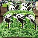 ieftine Jachete de Motociclete-Seturi Duvet Cover #D Poliester / Poliamidă Imprimeu reactiv 4 PieseBedding Sets / 4pcs (1 Plapumă Duvet, 1 Cearceaf Plat, 2 Shams)