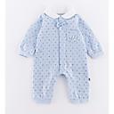 ieftine Top Băieți Bebeluși-Bebelus Băieți Activ Imprimeu Manșon Lung Poliester O - piesă Albastru piscină 90