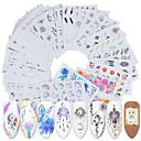 お買い得  ウォーターネイルシール-40 pcs ステッカー ネイルアート マニキュアペディキュア クリエイティブ ネイルデカール デイリーウェア / 祭り