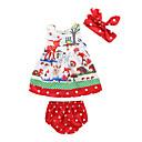 ieftine Set Îmbrăcăminte Bebeluși-Bebelus Fete Activ Imprimeu Fără manșon Lung Bumbac Set Îmbrăcăminte