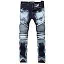 baratos Roupas de Caça-Homens Activo / Básico Jeans Calças - Estampa Colorida