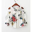 ieftine Topuri Fete-Copii Fete Mată Manșon Lung Bluză