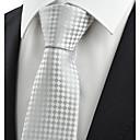 זול אביזרים לגברים-עניבת צווארון - Houndstooth מסיבה / עבודה בגדי ריקוד גברים