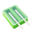 preiswerte Kuchenbackformen-Backwerkzeuge ABS + PC Kreative Küche Gadget / Heimwerken Eis / Eis am Stiel Dessert-Werkzeuge 1pc