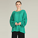 baratos Bijoux de Corps-Mulheres Blusa Cordões, Sólido