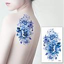 رخيصةأون سجاد-3 pcs ملصقات الوشم الوشم المؤقت سلسلة الزهور الفنون الجسم ذراع / كتف