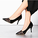 cheap Women's Heels-Women's Shoes Patent Leather Spring Comfort / Basic Pump Heels Stiletto Heel Gold / Black / Silver