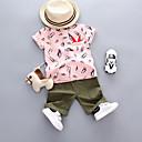 cheap Baby Boys' One-Piece-Baby Boys' Print Short Sleeve Clothing Set