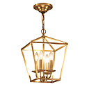 cheap Chandeliers-ZHISHU 4-Light Geometric / Mini Chandelier Ambient Light - Mini Style, 110-120V / 220-240V Bulb Not Included