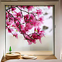 cheap Window Film & Stickers-Window Film & Stickers Decoration Matte / Contemporary Flower / Floral PVC(PolyVinyl Chloride) Window Sticker / Matte