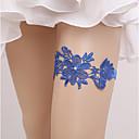 billige Bryllupsstrømpebånd-Blondelukning Vintage Stil Bryllup Garter Med Elastik Strømpebånd Bryllup / Fest / aften