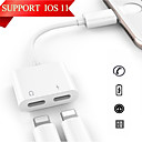 cheap Wall Stickers-Lightning 1 to 2 Adapter iPhone for 12 cm For PVC(PolyVinyl Chloride)