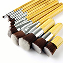 cheap Makeup Brush Sets-11pcs Makeup Brushes Professional Artificial Fibre Brush Eco-friendly / Professional / Soft Bamboo / Wooden / Bamboo