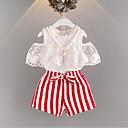 ieftine Rochii Fete-Copil Fete Dungi Manșon scurt Set Îmbrăcăminte