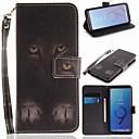 tanie Etui na telefony & Folie ochronne-Kılıf Na Samsung Galaxy S9 Portfel / Etui na karty / Z podpórką Pełne etui Zwierzę Twarde Skóra PU na S9